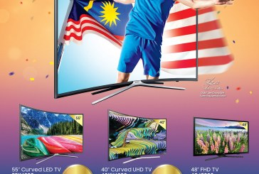 Samsung Curved TV Offer For Merdeka Celebration 2016