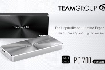 Team Group PD700 USB 3.1 Gen2 Portable SSD Launched