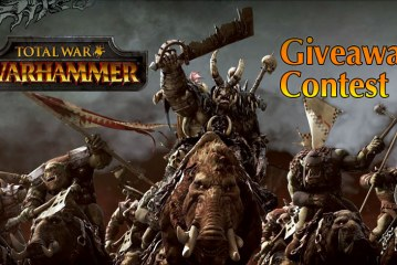 Total War : Warhammer Giveaway Contest Results