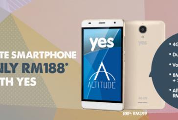 Yes Altitude 4G LTE Merdeka & Malaysia Day Promotion