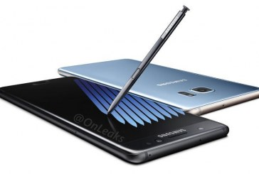Samsung Unveils New Galaxy Note7 Phablet