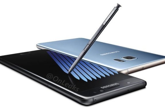The Galaxy Note7 Compared Against The Galaxy Note5