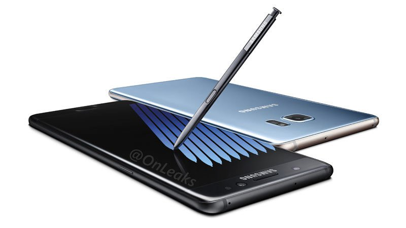 Samsung Unveils New Galaxy Note7