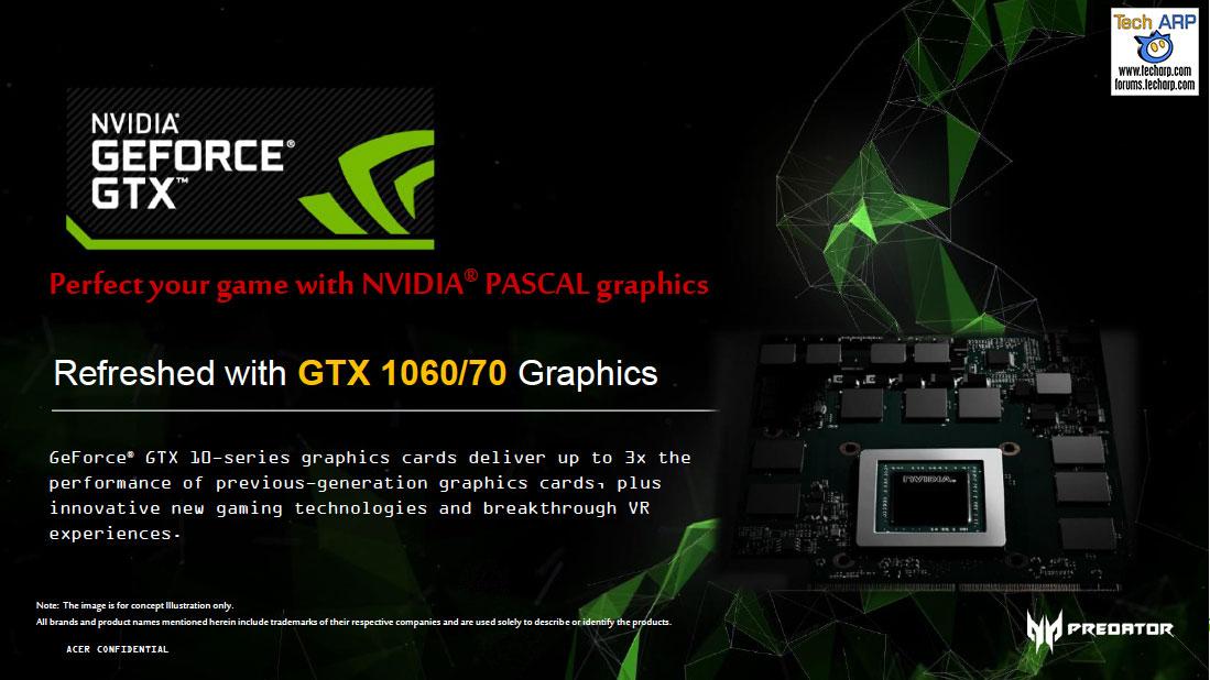 Acer Predator 15 and Predator 17 Gaming Laptops