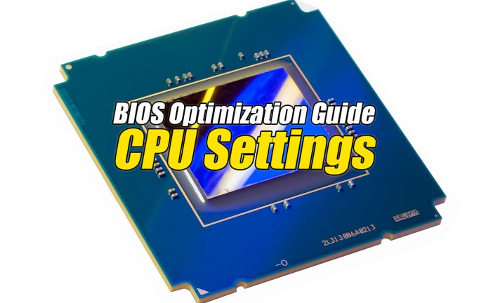 Vanderpool Technology – The BIOS Optimization Guide