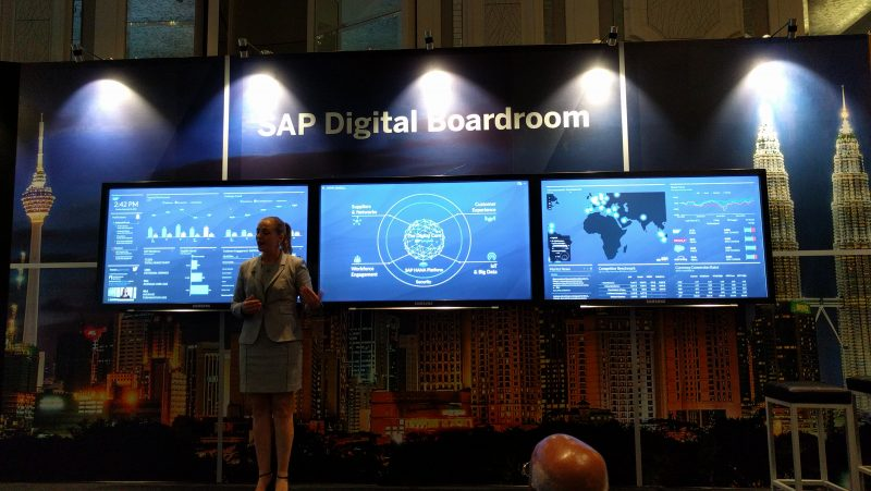 The New SAP Digital Boardroom Revealed
