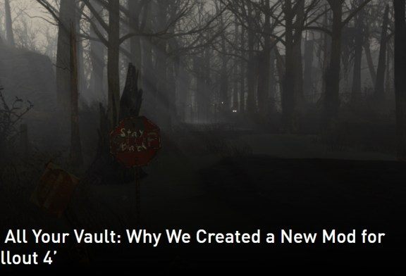NVIDIA Releases Free Vault 1080 Mod For Fallout 4