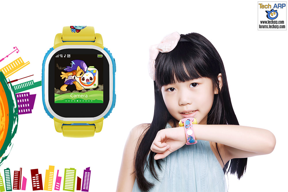 Hands On Look At The Tencent QQ Watch