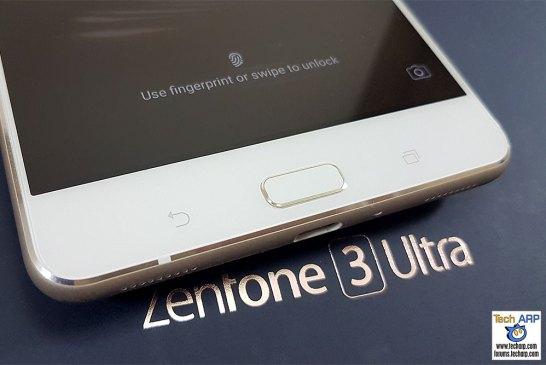 The ASUS ZenFone 3 Ultra Fingerprint Sensor