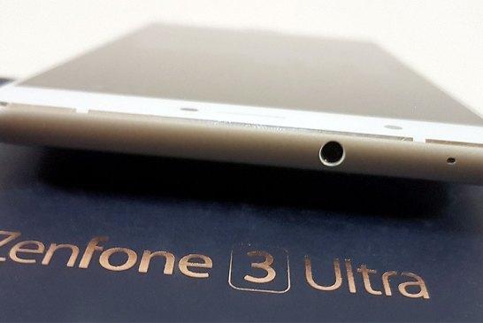 The ASUS ZenFone 3 Ultra top