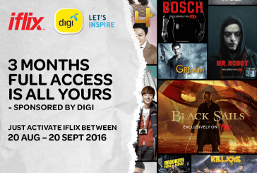 DIGI Prepaid Offer Unlimited iflix Access