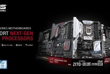 ASUS 100 Series Motherboards Now Support Next-Gen LGA 1151 CPUs
