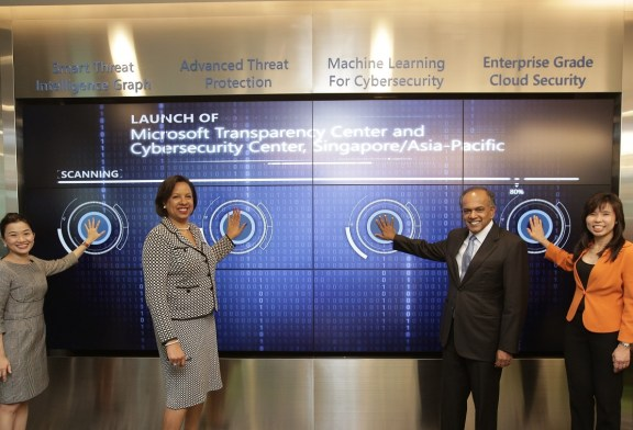 Microsoft Transparency Center & Cybersecurity Center Launched