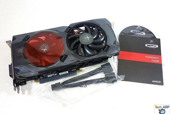 The XFX Radeon RX 470 RS Black Edition box