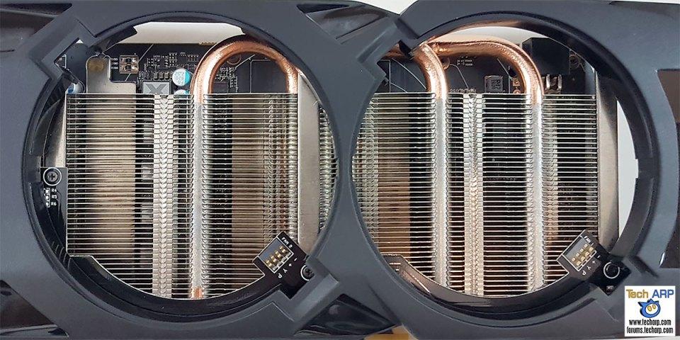 XFX Radeon RX 470 RS Black Edition heatsink