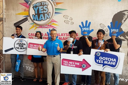 Find The Yes Man To Win RM50K In Cash Prizes!