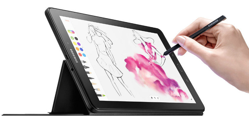 2016 Galaxy Tab A Now Comes With S Pen