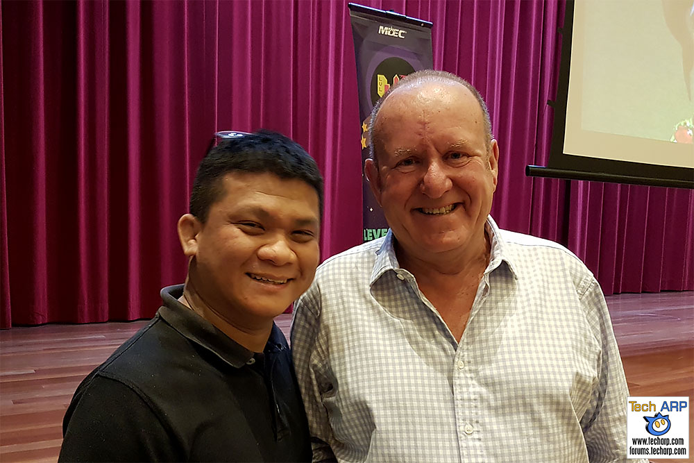 Ian Livingstone - The Past, Present & Future of the Game Industry