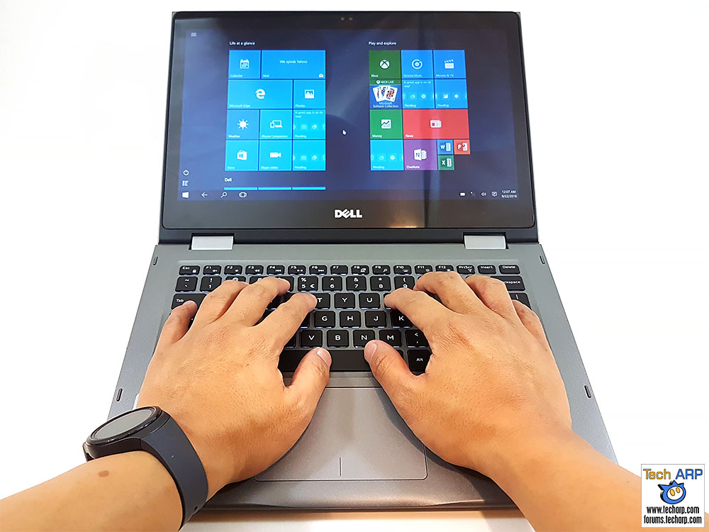The Dell Inspiron 13 5000 (5368 / 5378) 2-in-1 Laptop Review - Page
