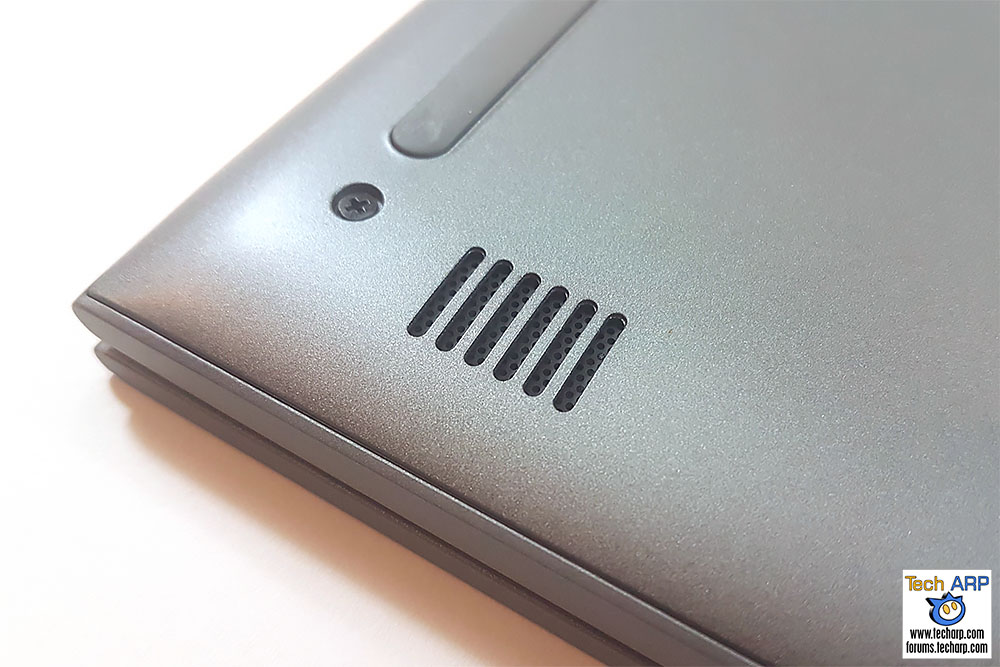 The Dell Inspiron 13 5000 (5368 / 5378) speaker ports