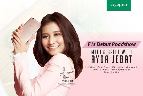 OPPO F1s Ayda Jebat Special Edition