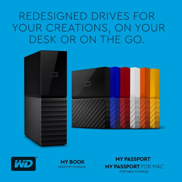 wd unveils redesigned my passport my book hard drive
