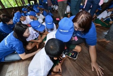 Samsung Love And Care Outreach In Cambodia