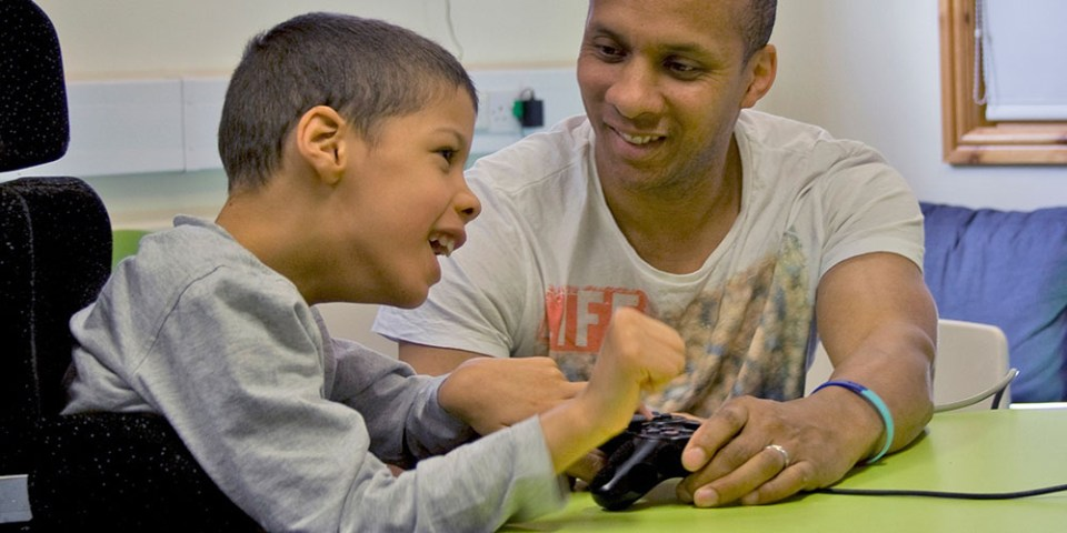 SpecialEffect - Helping Disabled Kids Have Fun With Games!