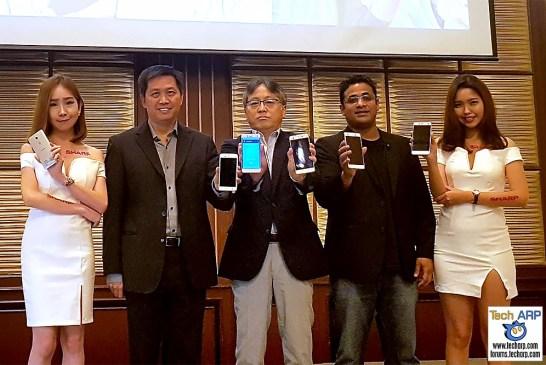 Sharp Z2 & Sharp M1 Smartphones Revealed