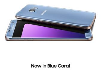 Galaxy S7 edge Blue Coral Colour Now Available In Malaysia