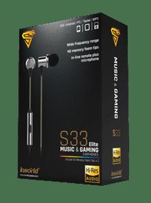 Kworld Unveils Hi–Res Audio Sets S33 And S34