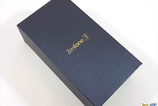 The ASUS ZenFone 3 (ZE552KL) box