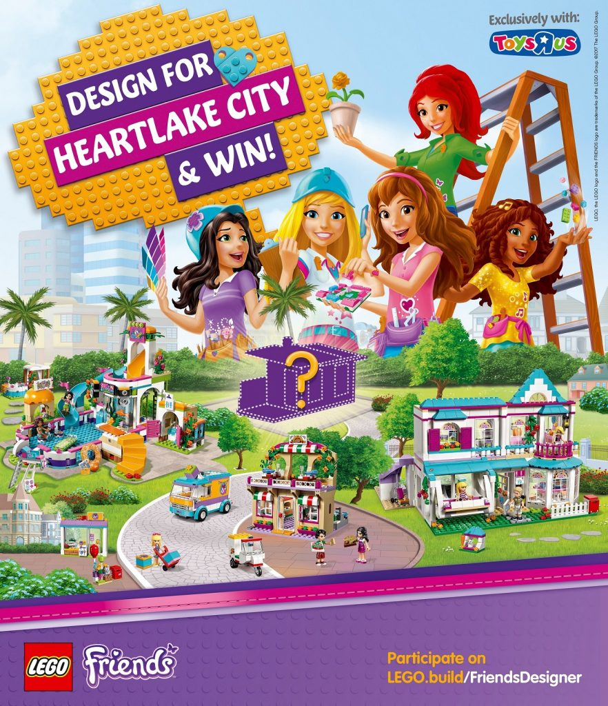 LEGO's Searching Toy Designer Via Lego Friends Contest