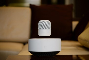 LG Levitating Portable PJ9 Speaker Released
