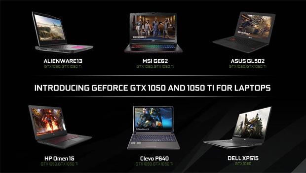 NVIDIA GeForce GTX 1050 Ti & GTX 1050 Laptops Launched!