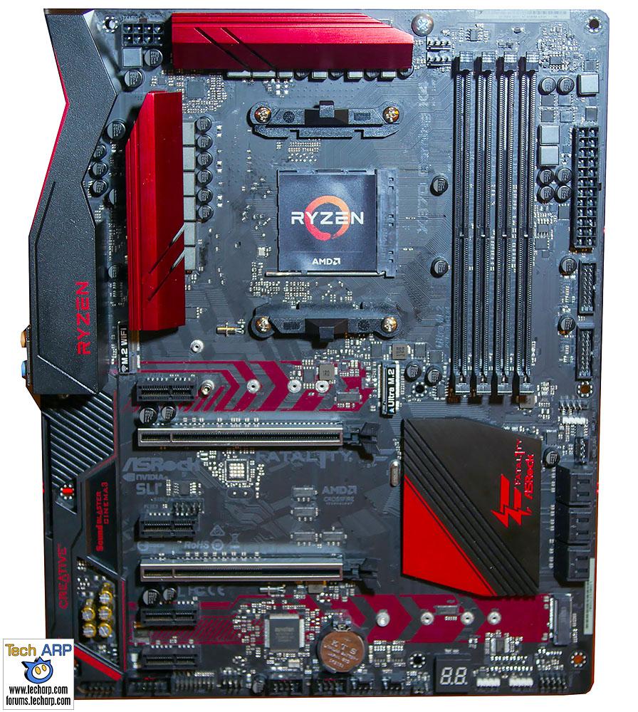 ASRock Ryzen 7 motherboard