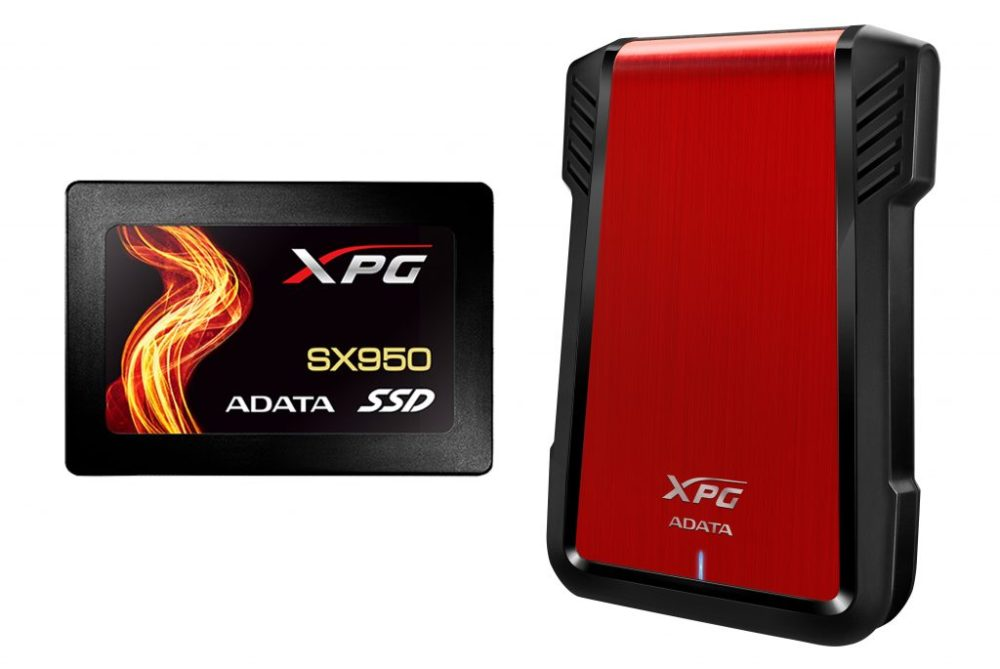 ADATA XPG SX950 SSD & EX500 Released