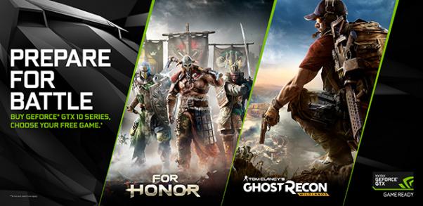 NVIDIA Prepare For Battle Game Bundle Announced