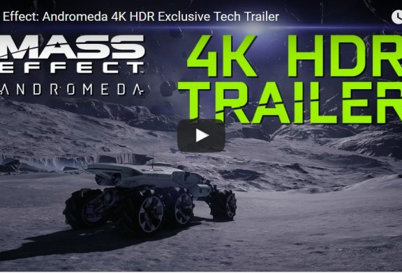 The NVIDIA 4K HDR Trailer of Mass Effect: Andromeda