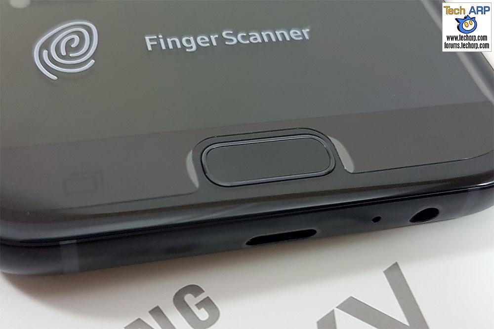 The 2017 Samsung Galaxy A7 (SM-A720F) fingerprint sensor