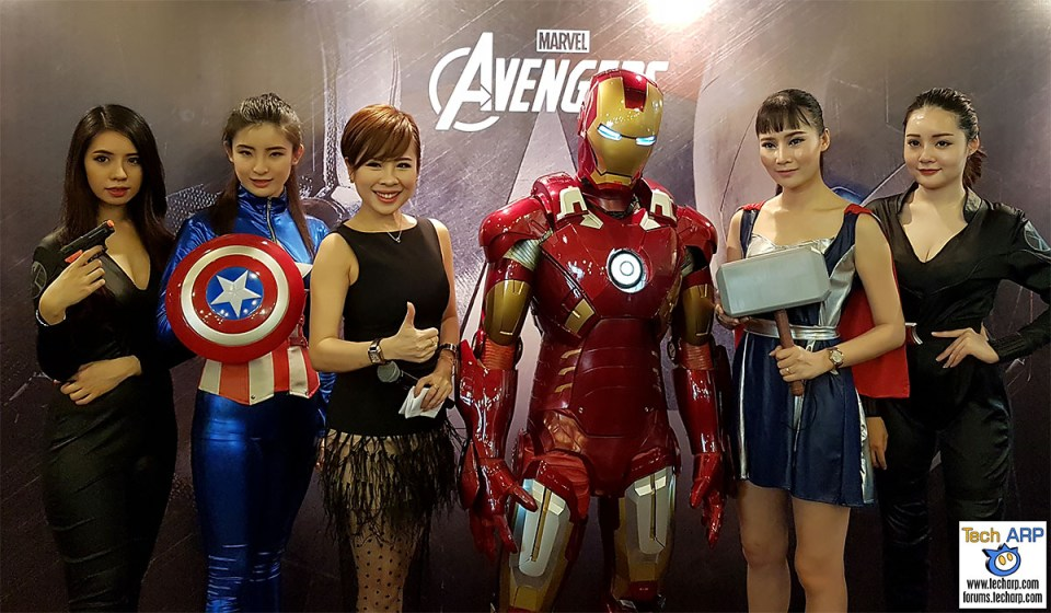 The Avengers AVR116T & AVR10T Tablets Revealed!