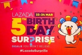 Last Day To Enjoy The Lazada 5th Birthday Surprise!