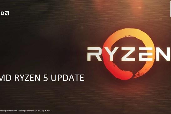 The AMD Ryzen 5 Processor Tech Report