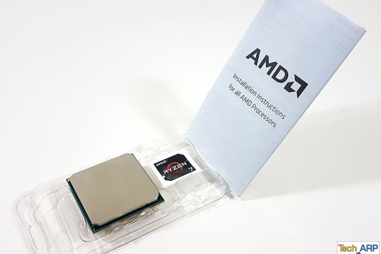The AMD Ryzen 7 1800X contents