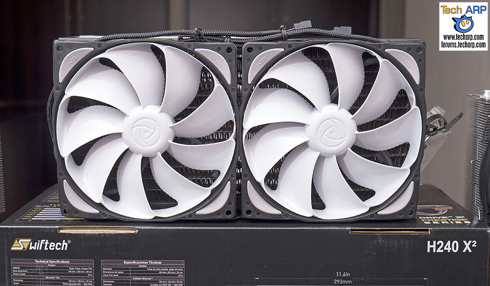 The 16 New AMD Ryzen 7 CPU Coolers Revealed - Swiftech Cooler
