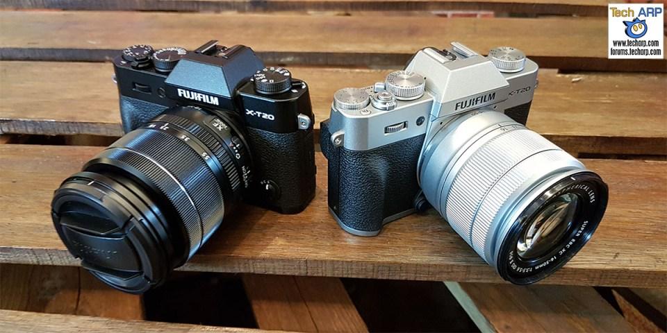 The FUJIFILM X-T20 Mirrorless Cameras