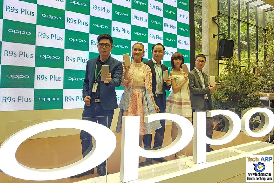 The OPPO R9s Plus Phablet Launch Coverage