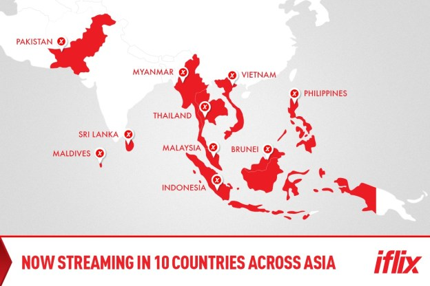 iflix Myanmar Goes Live, iflix Now Available In 10 Countries