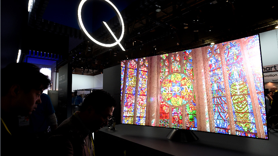 Samsung Introduces QLED TVs @ Global Launch Event In Paris