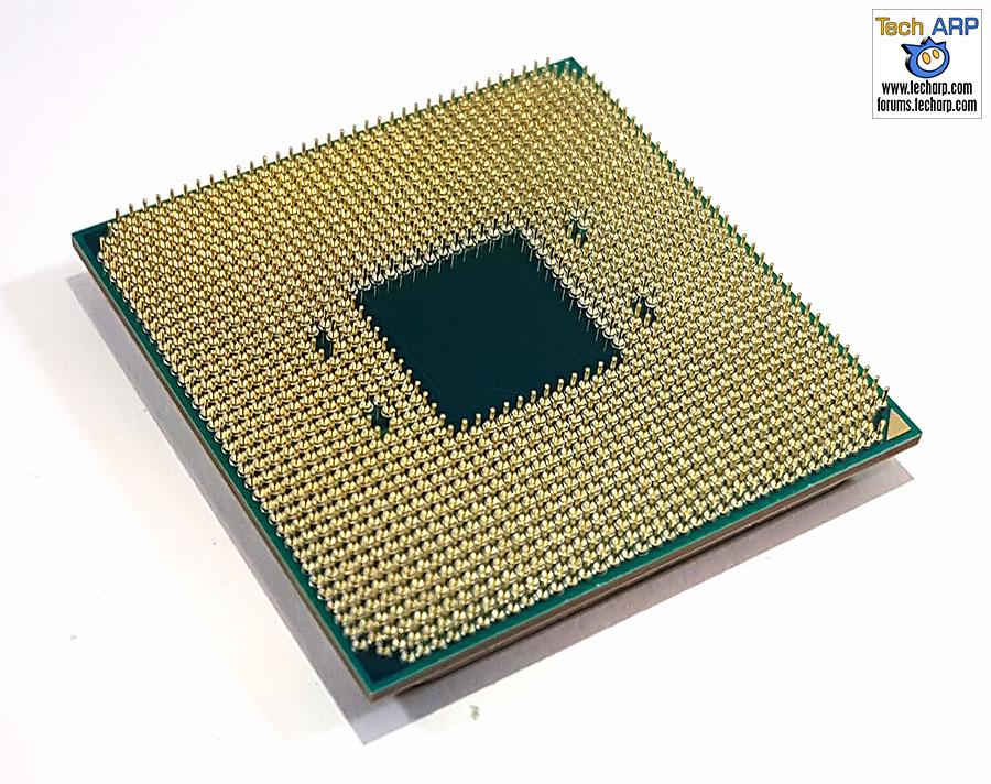 The AMD Ryzen 5 1600X CPU